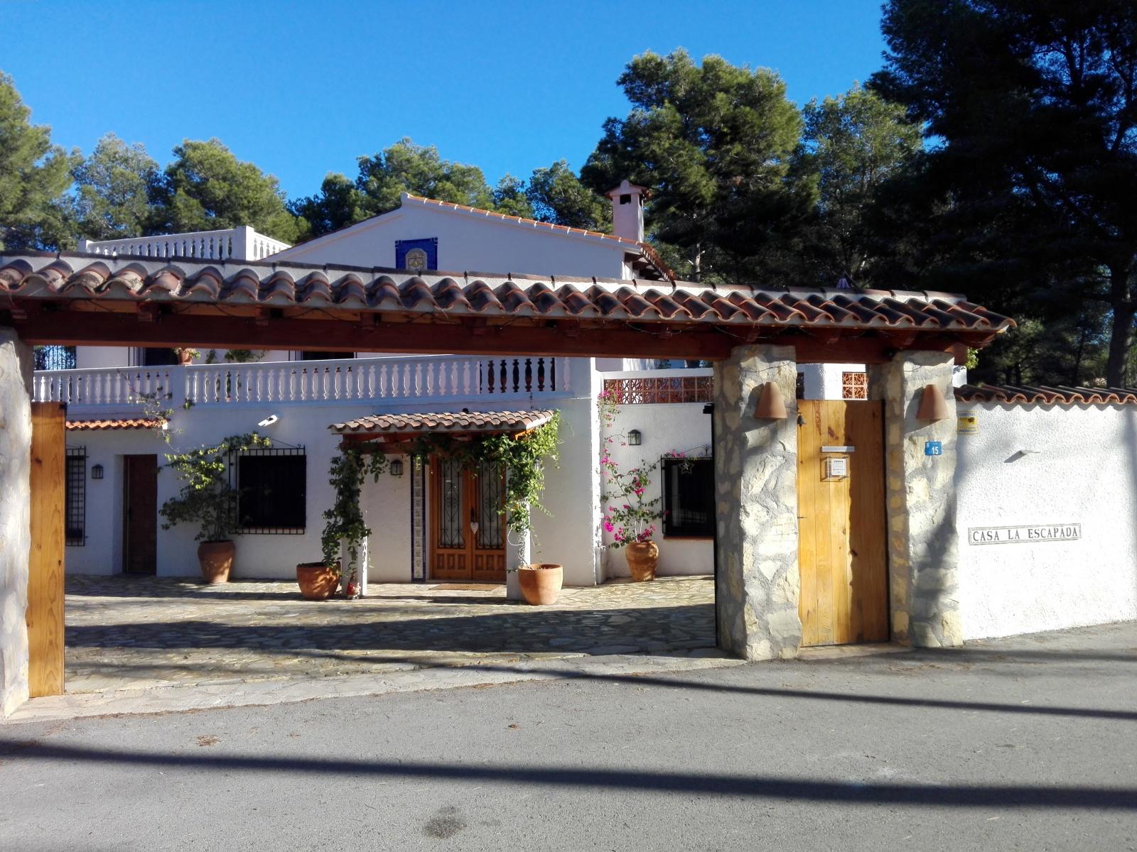 Casa Verano eterno Benissa Spanje