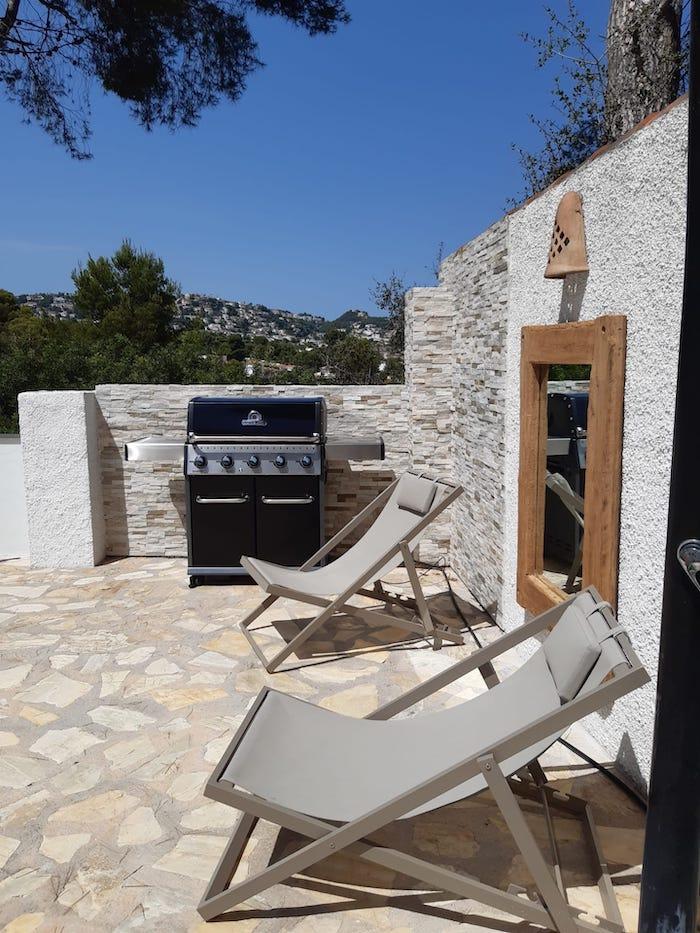 Barbecue casa verano eterno