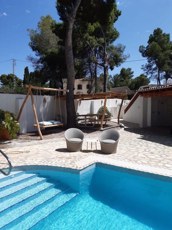 vakantie appartement met zwembad