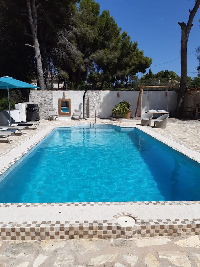 pool casa verano eterno